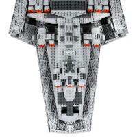 积木星球大战玩具星际驱逐舰歼星舰太空宇宙飞船模型05028 星际驱逐舰(现货秒发)