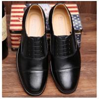 正装07B三接头套脚皮鞋07A制式校尉常服士官三尖头皮鞋军鞋男休闲鞋女 黑色
