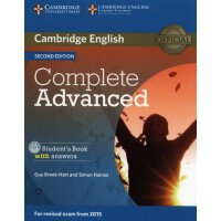 【预订】Complete Advanced Student's Book with Answers [With CDR