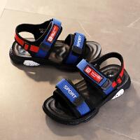 男童凉鞋夏季儿童凉鞋男童鞋中大童男孩沙滩鞋