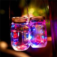 夜光许愿瓶 太阳能灯 彩灯瓶 星空瓶 漂流瓶