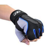 指护腕健身房器械单车举重哑铃防滑手套户外装备透气健身手套男士女运动手套半