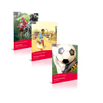 #培生积极阅读者系列# Level 1 套装1 (3本)亚马逊拉力赛+奥运诺言巴塞罗那运动会