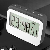 计时器提醒器学生用时间管理器做题考研厨房定时器闹钟静音番茄钟 高 ji 灰