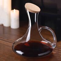 欧式无铅水晶玻璃红酒醒酒器家用分酒器小号葡萄酒个性酒樽壶套装