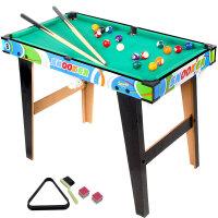 台球桌儿童桌球大号男孩家用室内木制桌面桌式台球亲子互动玩具