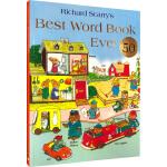 理查德斯凯瑞金色童书 英文原版绘本3 6岁 Best Word Book Ever 斯凯瑞词汇书 50周年纪念版 Ri