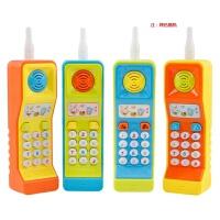 大哥大儿童玩具手机婴儿女孩宝宝仿真电话可咬防口水0-1-3岁男孩c 大哥大玩具