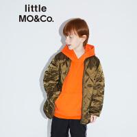 littlemoco秋季新品儿童羽绒服白鸭绒不对称衣摆轻薄羽绒服儿童