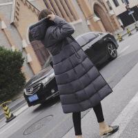 【秋冬新品】高端专柜品牌很仙的好看的女士棉袄女2019新款棉衣女长款过膝冬季反季女加厚外套潮