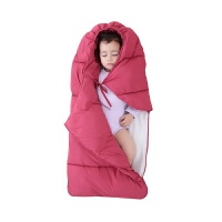 婴儿睡袋秋冬新生加厚羽绒宝宝防惊跳抱被初生儿防踢包被外出XM02