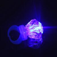 发光戒指 闪光仿真钻石宝石戒子儿童抖音玩具手指灯婚庆酒吧用品创意小礼品