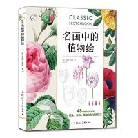 名画中的植物绘:48幅馆藏名作中的花朵 草木 果实彩铅绘画技法