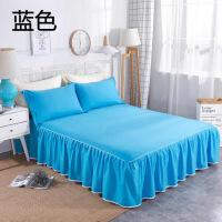全棉床裙订做单件1.8米床罩纯棉双人床单床垫保护床套单人定制