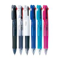 斑马笔(ZEBRA)多色/多功能圆珠笔 弹性笔夹0.7mm 粉红色笔杆 B3A3