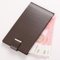 卡包男士多卡位真皮卡片包银行卡套卡夹刻字