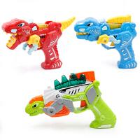 1-3岁幼儿玩具中号恐龙变形玩具枪 发声发光可手动变形 加厚耐摔