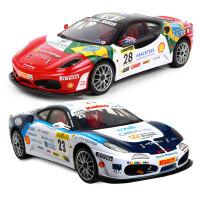 法拉利遥控汽车玩具可充电动无线男孩8-10岁儿童赛车大号跑车