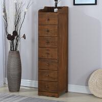 夹缝柜实木抽屉式收纳柜30cm白色小柜子卫生间储物柜厨房窄缝隙柜 1个
