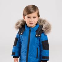 [3件3折价:258.9]davebella戴维贝拉童装冬季新款男童宝宝90绒保暖羽绒服DB12009