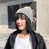 帽子女秋冬新款黑色韩版潮街头针织帽百搭时尚防风保暖百搭毛线帽