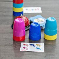 脑力大作战 竞技叠杯 儿童亲子互动记忆力专注力训练玩具益智游戏