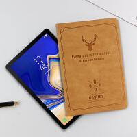 三星Galaxy Tab S4保护套10.5英寸电脑壳SM-T830/T835C平板皮套轻薄休眠防摔 灰色【三星Tab