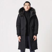 男新款加厚中长款棉衣面包服男士棉袄冬季外套大码男装