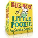 英文原版 Big Box of Little Pookie 桑德拉 博因顿猪猪宝贝系列 6册盒装纸板书 幽默绘本故事图