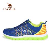 camel骆驼户外情侣款越野跑鞋 男女透气徒步越野跑鞋