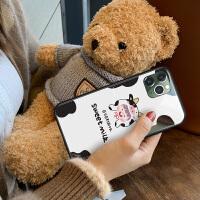 iPhone11手�C�ぬO果11Promax玻璃潮iphonex可��11Pro牛奶女孩XR��意全包xsmax�W�t��性max