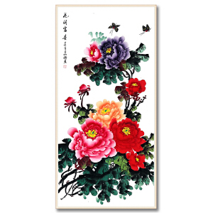 中国美术家协会会员、开封美术家协会理事 赵明锤《花开富贵》DW132