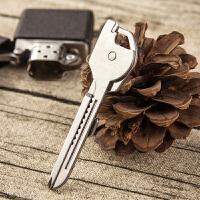 拆快递小刀开瓶器多功能钥匙挂件钥匙扣创意汽车钥匙链钥匙圈环