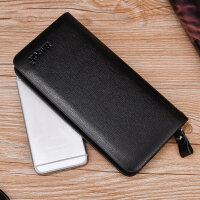 长款拉链男士钱包手拿包商务青年钱夹手包手抓包男手机包韩新版潮