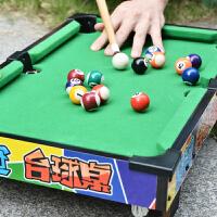 皇冠儿童台球桌 迷你小型4岁美式儿童桌球台 家用玩具益智小桌球 桌式台球
