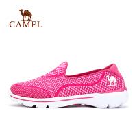 camel骆驼户外徒步鞋 春夏女款低帮透气耐磨网鞋徒步鞋