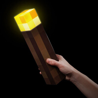 minecraft我的世界苦力怕 火把 火炬可亮灯可挂墙 模型壁灯夜灯