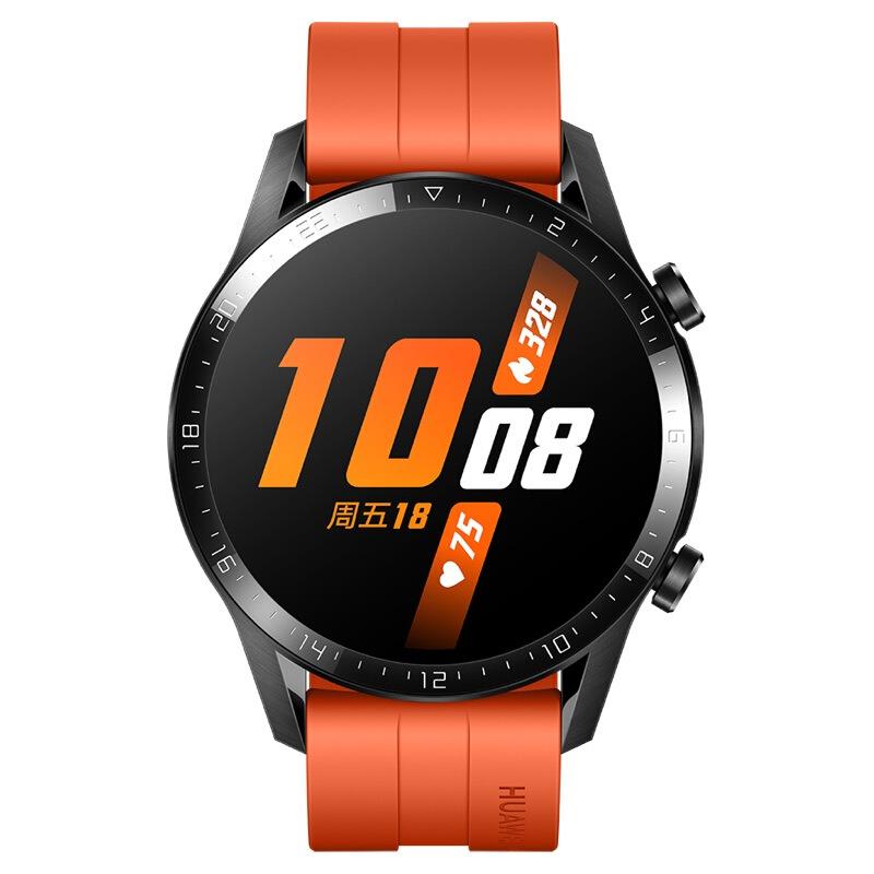 【当当自营】HUAWEI WATCH GT2(46mm)赤霞橙 华为手表 运动智能手表 全店支持当当礼卡