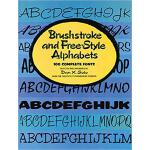 【预订】Brushstroke and Free-Style Alphabets 9780486234885