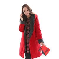 慈颜秋冬款韩版时尚款孕妇装 孕妇大衣 加厚大衣 WML076