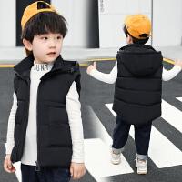男童棉马甲背心加厚2019新款冬季男宝宝坎肩短款中小童外穿