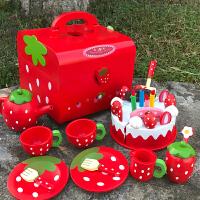 儿童切水果玩具蔬菜切切乐男女孩过家家切蛋糕玩具套装2-3-6周岁