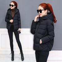 新年特惠短款女2019冬季新款女装显瘦连帽羽外套韩版修身小棉袄