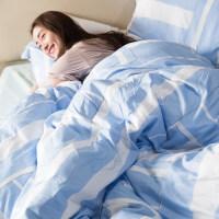 简约春夏60支天丝棉麻纯色床品冰丝四件套素色床单被套1.8m床品