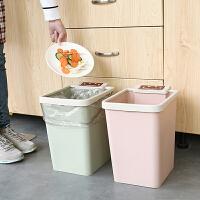 分类垃圾桶家用卫生间有带盖客厅厕所卧室厨房大号户外筒箱摇塑料