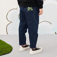 【秒杀价:198元】马拉丁童装男大童裤子春装2020年新款舒适棉布长裤儿童裤子