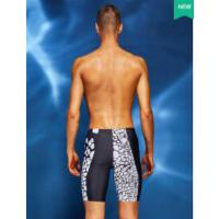 速干男士泳衣时尚温泉防尴尬成人泳裤宽松大码五分游泳裤装备