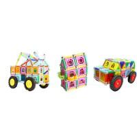 磁力棒�e木片3女孩���6周�q�和�益智力7吸�F石玩具8男孩子10�q女童
