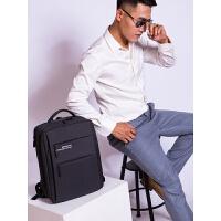 商务电脑包双肩包男士韩版简约时尚潮流旅行包书包男背包超大容量