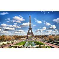 1000片木质拼图定制500风景建筑巴黎地标 埃菲尔铁塔
